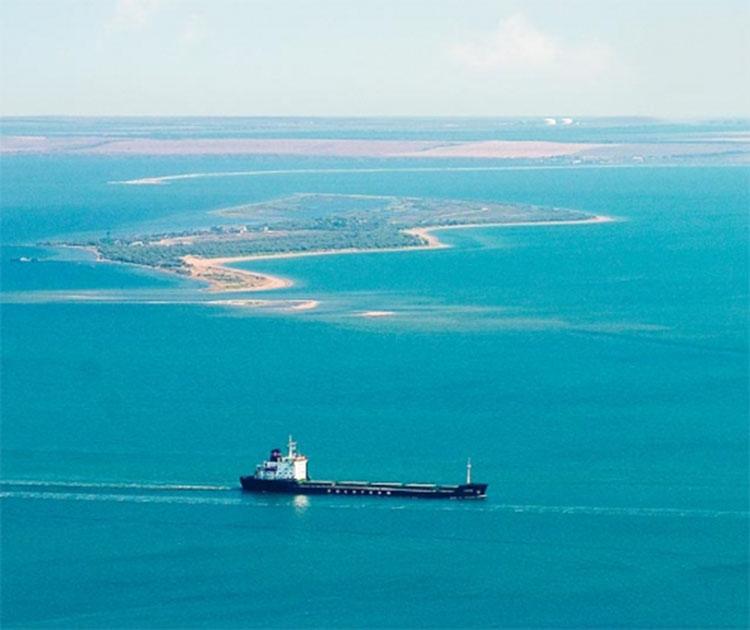 Остров Коса Тузла